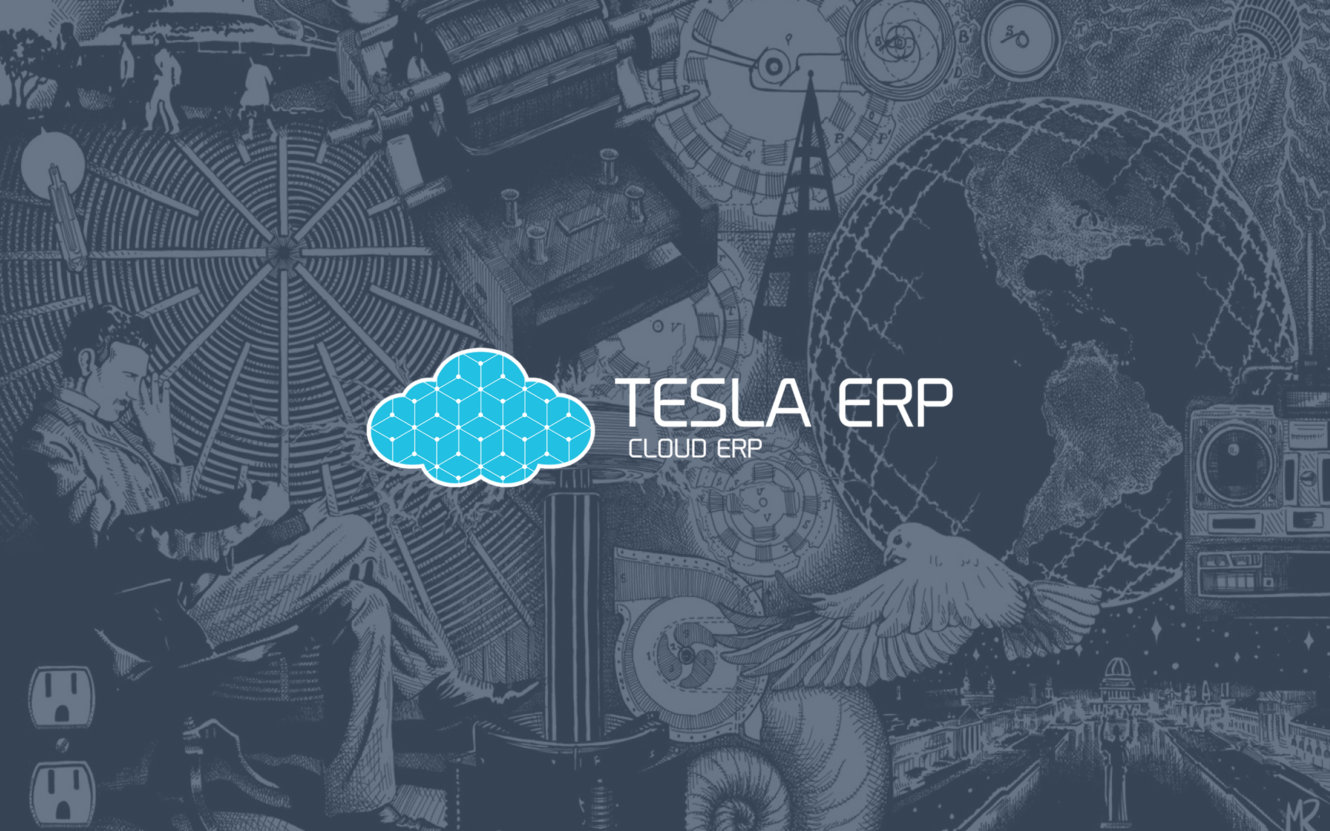 Tesla ERP - Wallpaper